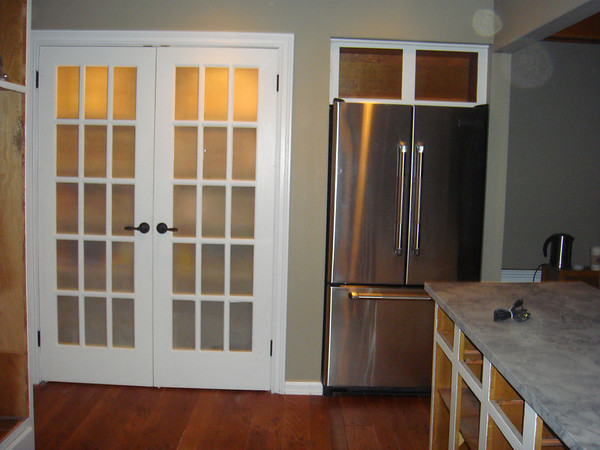 What to Do What to DoBasement door – Etched Glass French Doors